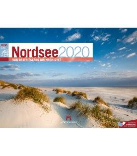 Wall calendar Nordsee ReiseLust 2020