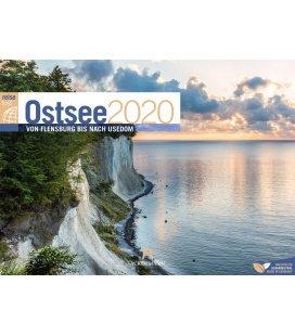 Wall calendar Ostsee ReiseLust 2020
