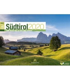 Wall calendar Südtirol ReiseLust 2020