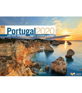 Wall calendar Portugal ReiseLust 2020