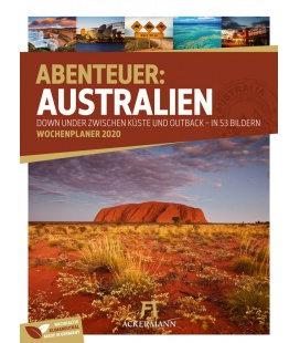 Wall calendar Australien - Wochenplaner 2020