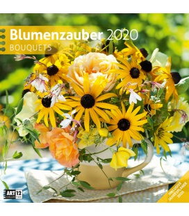 Wall calendar Blumenzauber 2020