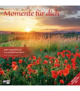 Wall calendar Momente für Dich 2020