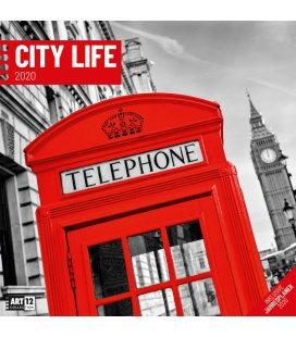 Wall calendar City Life 2020