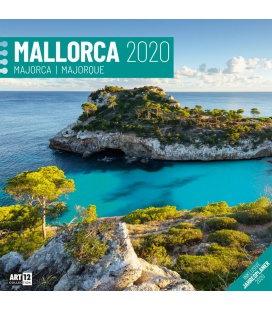 Wall calendar Mallorca 2020