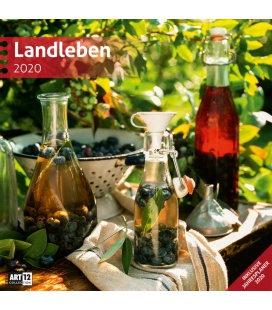 Wall calendar Landleben 2020