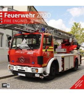 Wall calendar Feuerwehr 2020