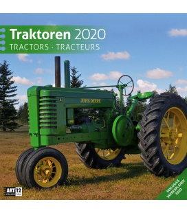 Wall calendar Traktoren 2020