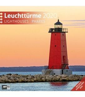 Wall calendar Leuchttürme 2020