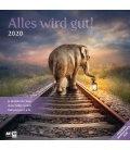 Wall calendar Alles wird gut 2020