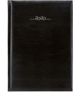 Daily Diary A4 Titan black 2020