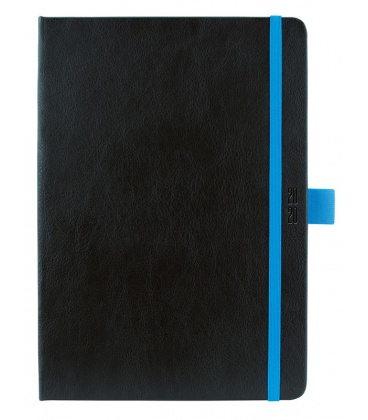 Daily Diary A5 Nero black, blue 2020