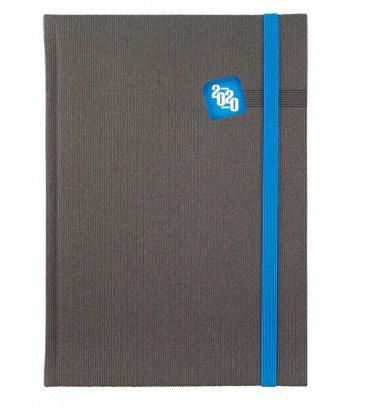 Daily Diary A5 Mambo grey, blue 2020