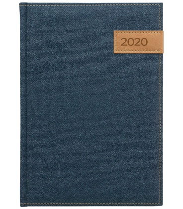 Daily Diary A5 Denim blue 2020