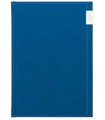 Daily Diary A5 Joy blue, white 2020