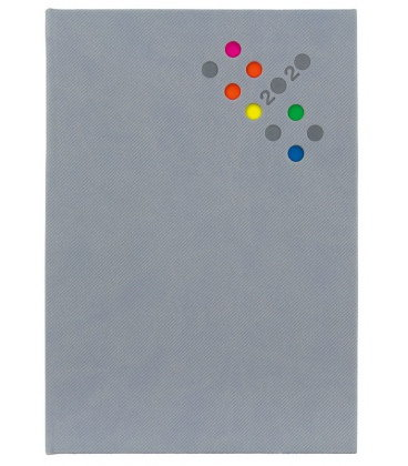 Daily Diary A5 Berry grey 2020