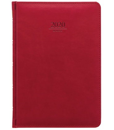 Daily Diary A5 Gemma red 2020