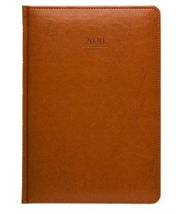 Weekly Diary B5 Kastor brown 2020