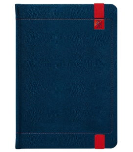 Weekly Diary A5 Inverso blue, red 2020