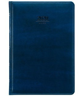 Weekly Diary A5 Atlas blue 2020