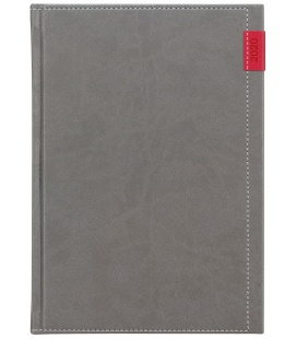 Weekly Diary A5 poznámkový Joy grey, red 2020
