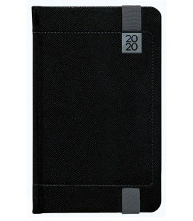 Weekly Pocket Diary Inverso black, grey 2020