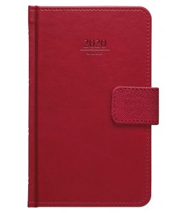 Weekly Pocket Diary Gemma s poutkem red 2020
