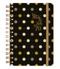 Weekly Diary A5 Dotty with spiral 2020