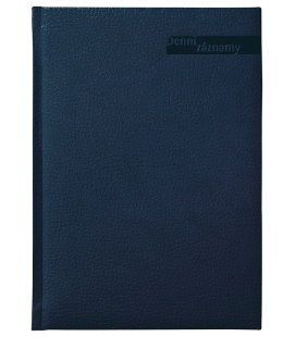 Diary A5 Daily Notes  Denní záznamy A5 blue 2020