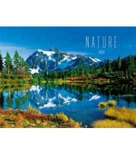 Wall calendar Nature 2020