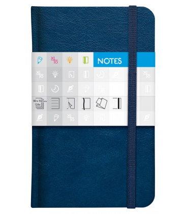 Notepad pocket Saturn lined blue 2020