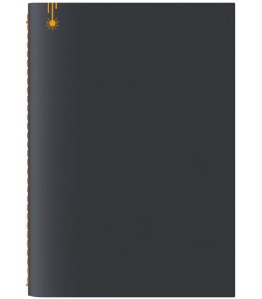 Notepad A5 Pop black, yellow 2020