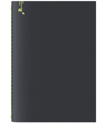 Notepad A5 Pop black, green 2020