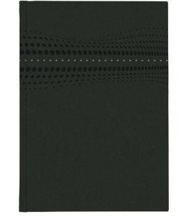 Notepad A4 STILO lined black 2020