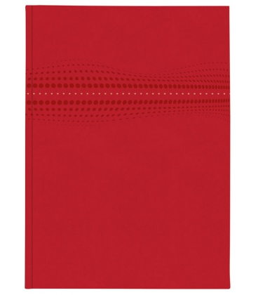 Notepad A4 STILO lined red 2020
