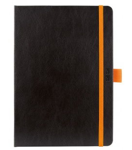 Daily Diary A5 Nero black, orange SK 2020