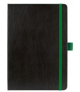 Daily Diary A5 Nero black, green SK 2020