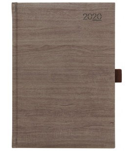 Daily Diary A5 Wood brown SK 2020