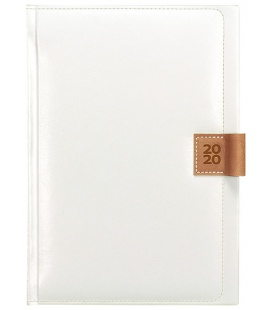 Daily Diary A5 Nody white, brown SK 2020