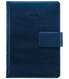 Daily Diary A5 Atlas s poutkem blue SK 2020