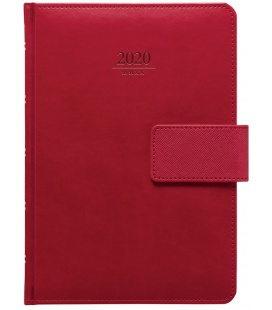 Daily Diary A5 Gemma s poutkem red SK 2020