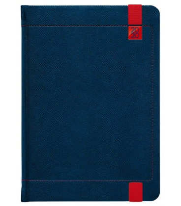 Weekly Diary A5 Inverso blue, red SK 2020