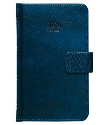 Weekly Pocket Diary Atlas s poutkem blue SK 2020
