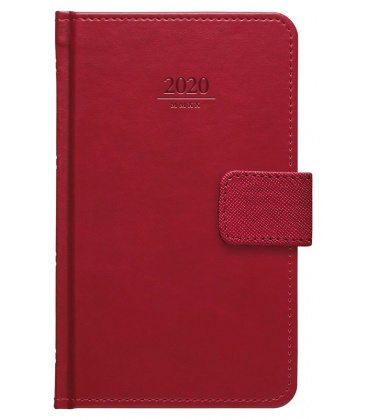 Weekly Pocket Diary Gemma s poutkem red SK 2020