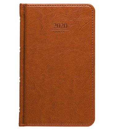Weekly Pocket Diary Kastor brown SK 2020