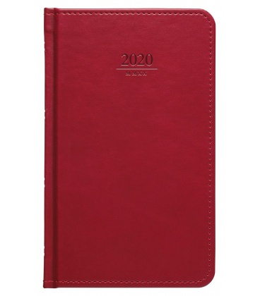 Weekly Pocket Diary Gemma red SK 2020