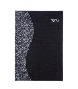 "Weekly Diary B5 ""SIGMA"" Balacron/Balacron black, white 2020"
