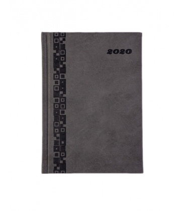 Daily Diary A5 721 Fiaminga color grey 2020