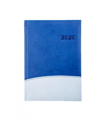 "Daily Diary A5 721 ""STORY"" Vivella/Vivella blue 2020"