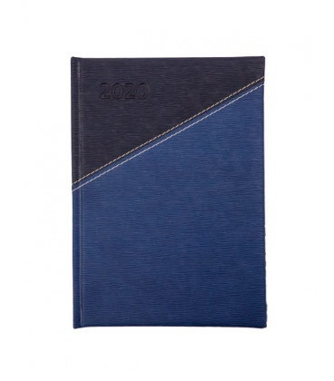 """Daily Diary A5 721 """"X"""" Eclisse blue 2020"""